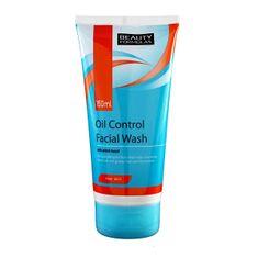 Beauty Formulas Čisticí gel pro mastnou pleť (Oil Control Facial Wash) 150 ml