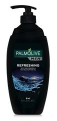 Palmolive Men Refreshing gel za prhanje 3 v 1, s pumpico, 750 ml