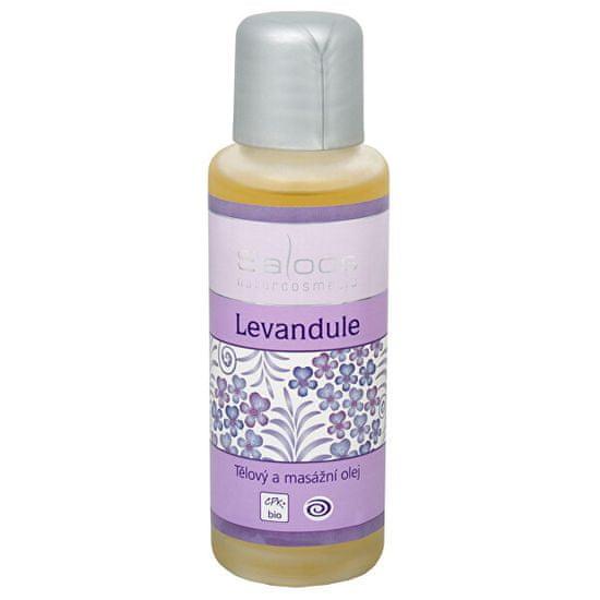 Saloos Bio tělový a masážní olej - Levandule