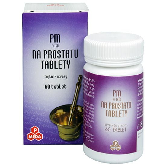 Purus Meda PM Elixír na prostatu 60 tbl.
