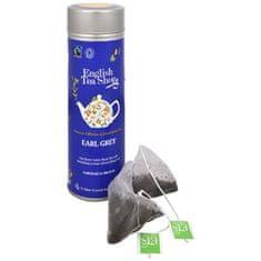 English Tea Shop Černý čaj Earl Grey s bergamotem BIO 15 pyramidek v plechovce