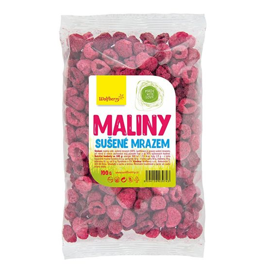 Wolfberry Maliny lyofilizované