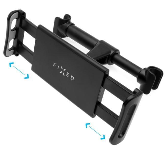 FIXED Univerzální držák pro tablety Tab Passenger s uchycením do opěrky hlavy FIXTAB-PAS-BK