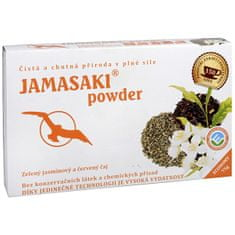 Jamasaki powder - zelený jazmínový a červený čaj 75 g