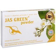 Hannasaki Jas Green powder - jazmínový zelený čaj 75 g