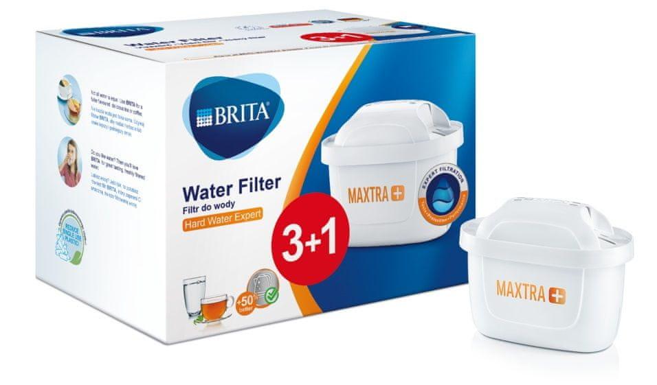 Brita Pack 3+1 MAXTRAplus PL - expert na tvrdou vodu