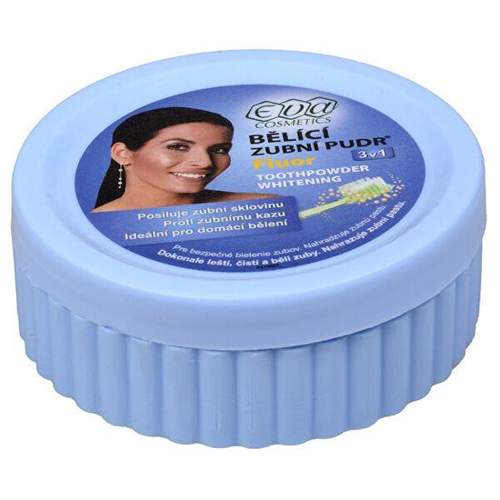 Eva Cosmetics Bieliace zubné púder (fluór) 30 g