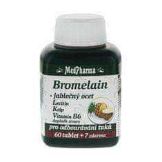 MedPharma Bromelain 300 mg + jablčný ocot + lecitín + kelp + vitamín B6 60 tbl. + 7 tbl. ZD ARMA