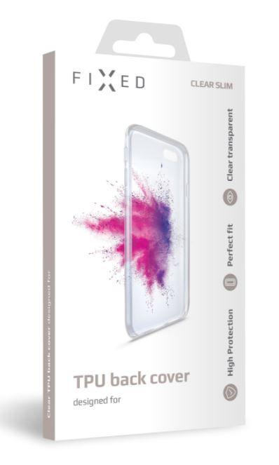 FIXED TPU gelové pouzdro pro Huawei P40 Lite 5G, čiré FIXTCC-601