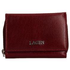 Lagen Női bőr pénztárca 50453 Cherry