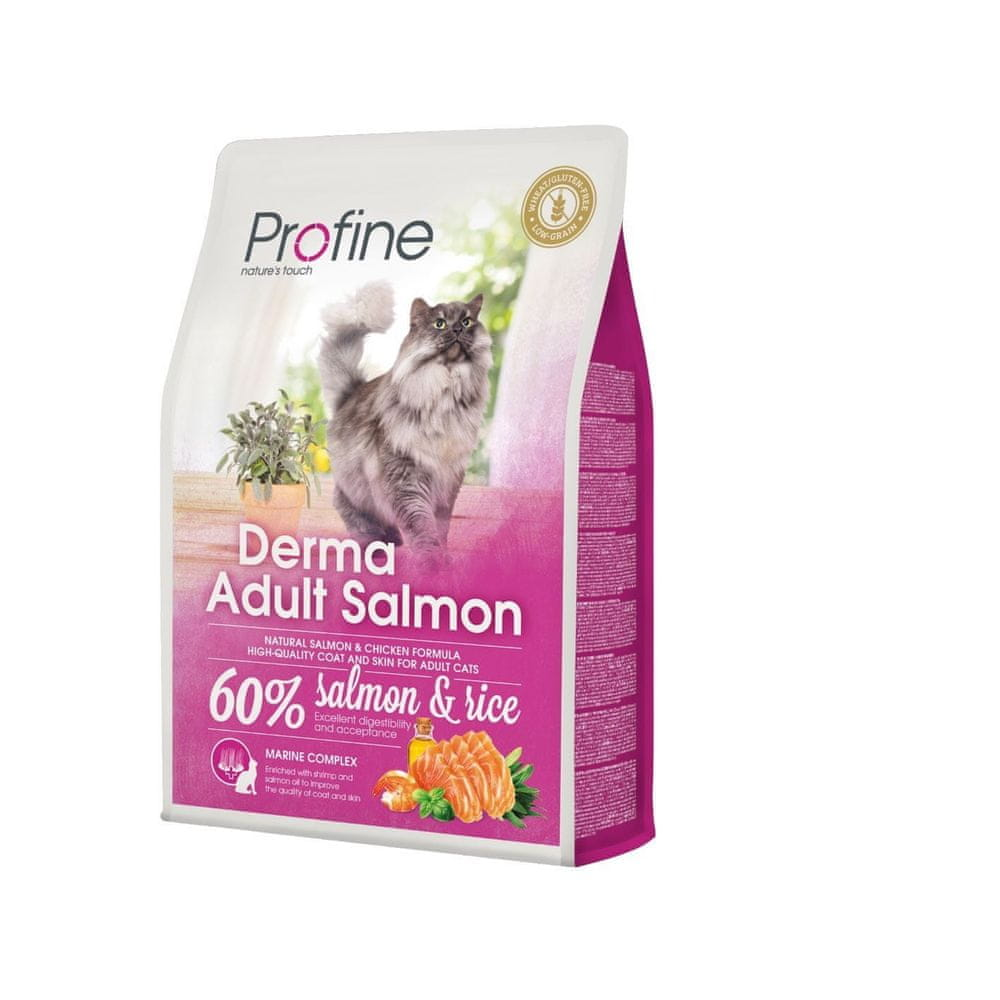 Profine Cat Derma Adult Salmon 2 kg + 300 g