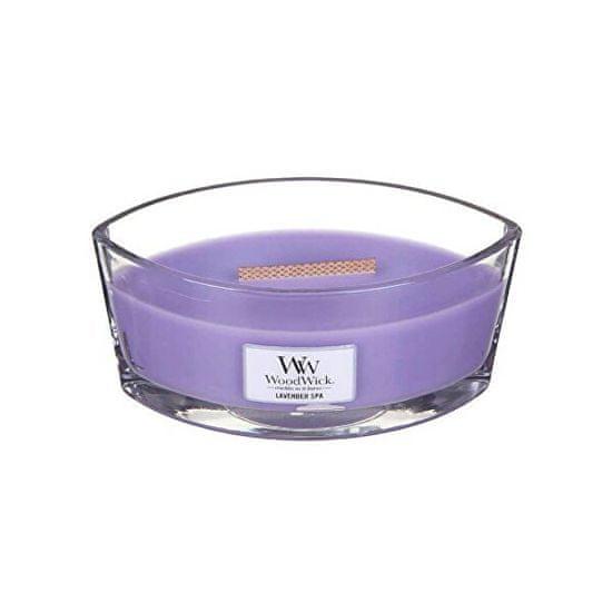 Woodwick Čoln z dišečimi svečami Lavender Spa 453,6 g