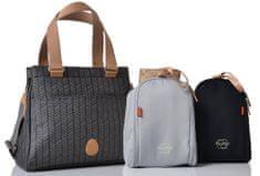 PacaPod Richmond torbica in previjalna torba, črna