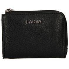 Lagen Női mini bőr pénztárca TG-605 Black