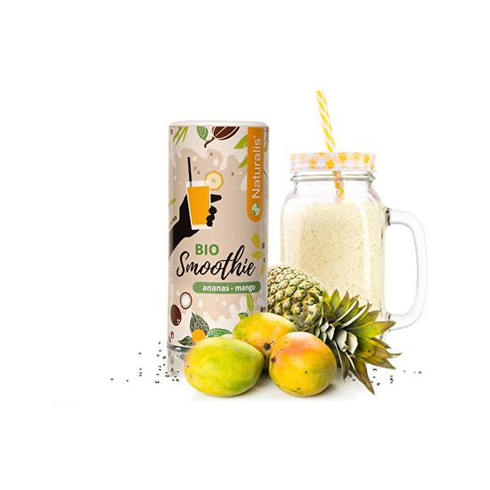 Naturalis Smoothie Ananas + Mango BIO 180 g