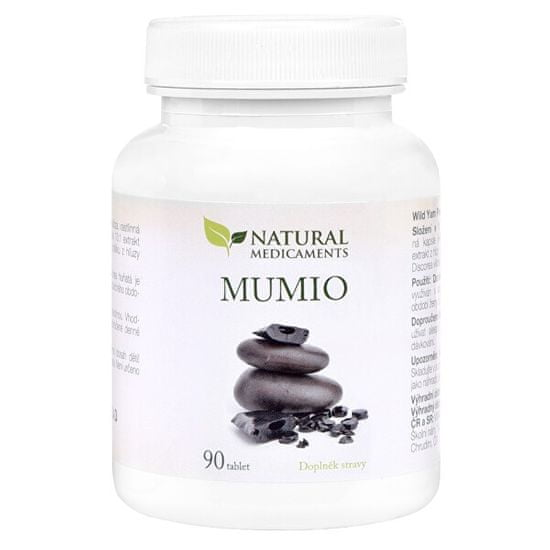 Natural Medicaments Mumio 250 mg 90 tabliet