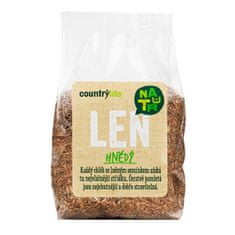 Country Life Len hnědý 300g