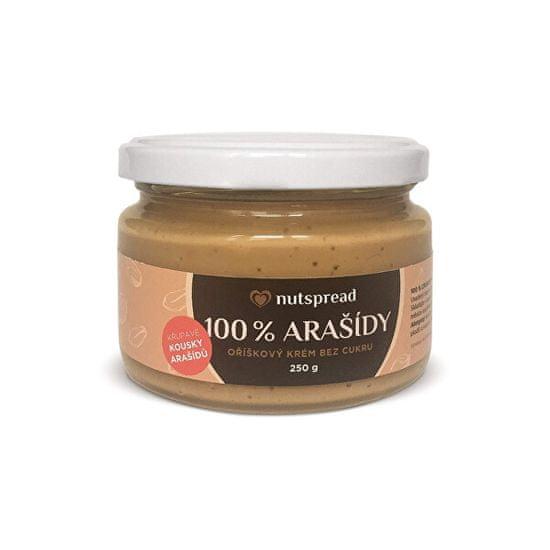 Nutspread 100% Arašídový krém crunchy