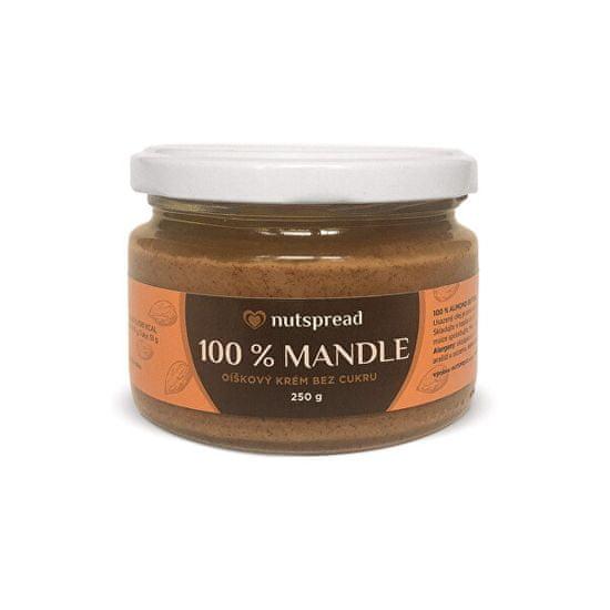 Nutspread 100% Mandlový krém