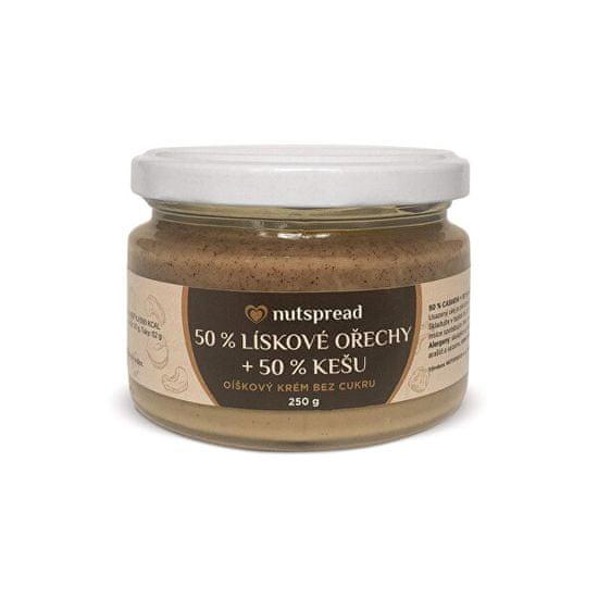Nutspread 100% Dvoubarevný lískooříškový krém s kešu