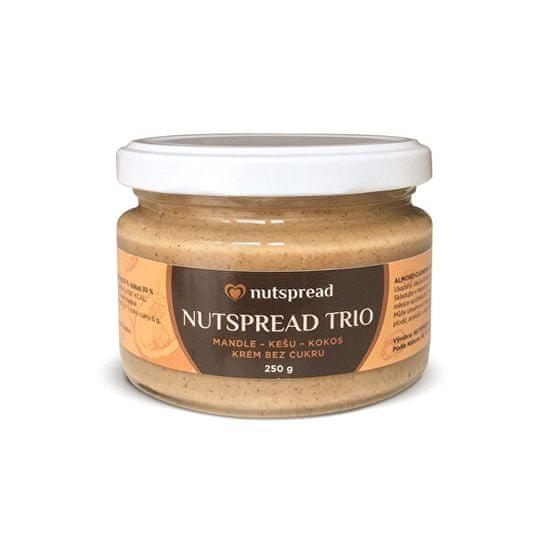 Nutspread 100% Trio ze tří druhů ořechů
