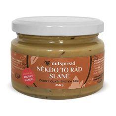 Nutspread Někdo to rád slané - Arašídový krém s kešu, mandlemi a solí (Varianta 250 g )