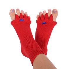 Pro nožky Adjustačné ponožky RED (Veľkosť M)