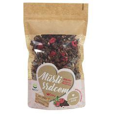 Topnatur Müsli srdcem Malina & Belgická čokoláda 250 g