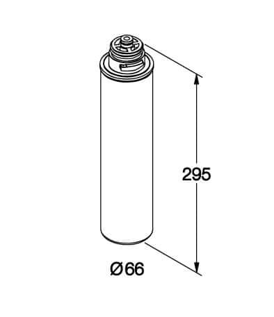 Aqua Shop AQ 90 - filtrační vložka pro odstranění chlóru a vodního kamene