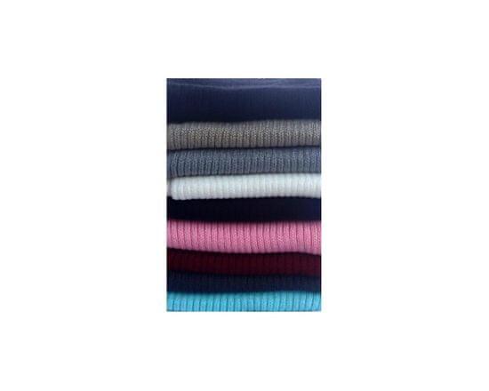 ORSI Zimní šála dětská pletená 18x115 růžová