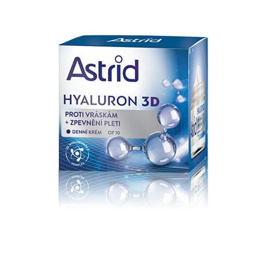 Astrid Bőrfeszesítő ránctalanító nappali krém OF 10 Hyaluron 3D 50 ml