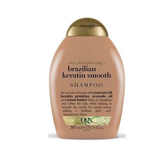 OGX Zjemňující šampon brazilský keratin 385 ml