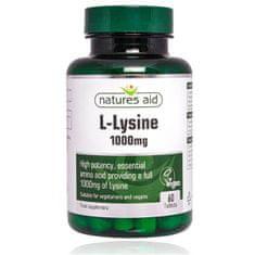 Natures Aid L-lyzín 1000 mg - 60 tabliet