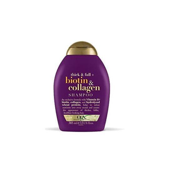 OGX Šampon biotin-kolagen 385 ml pro husté a plné vlasy