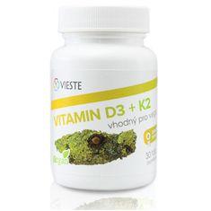 Vieste group Vitamín D3 + K2 30 tablet