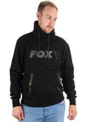 Fox Mikina Black / Camo Print High Neck velikost: XXL