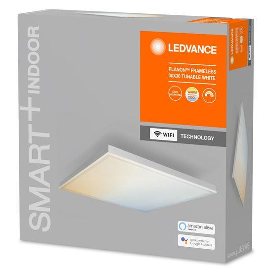 LEDVANCE Smart+ Planon Frameless Square svetilka WIFI TW 300 x 300 - Odprta embalaža