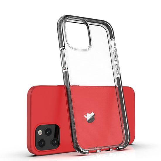 MG Spring Case silikonski ovitek za iPhone 12 / 12 Pro, svetlomodra