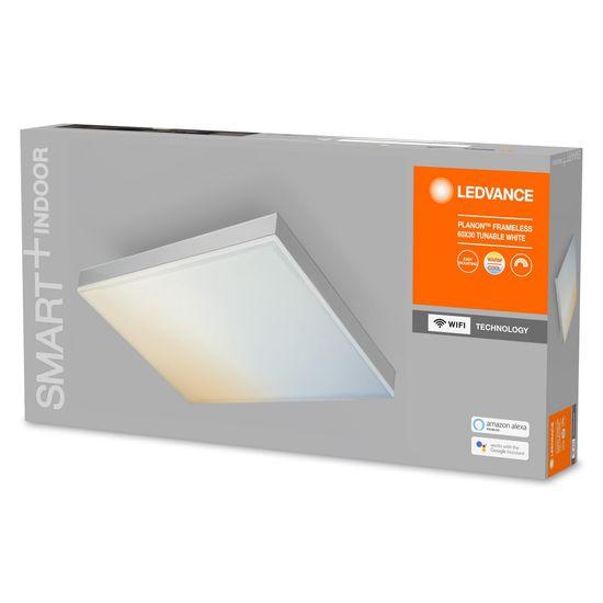 LEDVANCE Smart+ Planon Frameless Rectangular svetilka WIFI TW 600 x 300