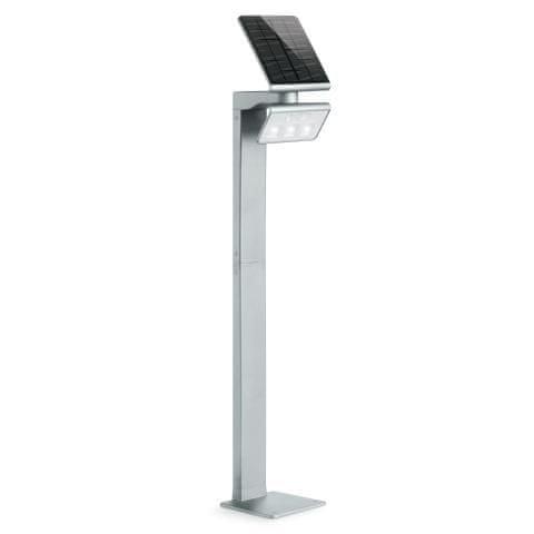 STEINEL Solarna svetilka z senzorjem XSolar GL-S srebrna