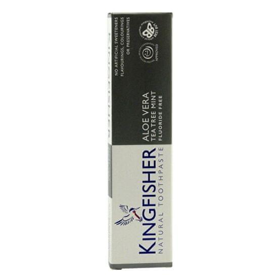 Kingfisher Zubná pasta Kingfisher Aloe, Tea tree & Mäta 100 ml