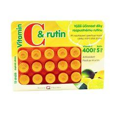 Rosenpharma Rosen vit.C + rutín 400 mg 15 dražé