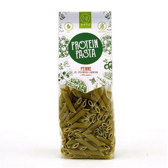 Natu Proteín pasta Penne zo zeleného hrachu BIO 250 g