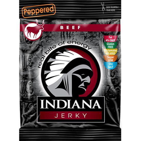 Indiana Jerky beef (hovězí) Peppered 25 g