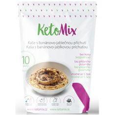 KetoMix Proteinová kaše 280 g 10 porcí - s banánovo-jablečnou příchutí