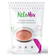 KetoMix Proteínová polievka 300 g (10 porcií) - paradajková