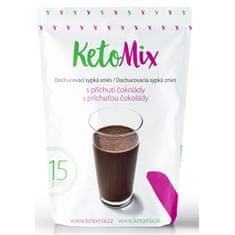 KetoMix Příchuť ke koktejlu - čokoláda 45 g