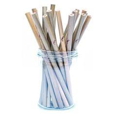 Tropikalia Bambusové slamku Natu ral 1 ks