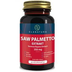 Elanatura Saw Palmetto - extract 350 mg - 60 kapslí