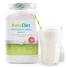 KetoDiet Proteinový nápoj smetanový na 1 týden (35 porcí)